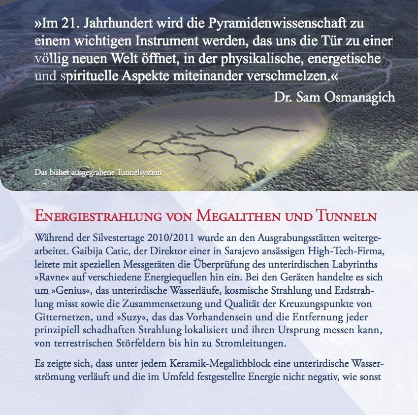 Innenansicht des 16-Seiten-Booklets