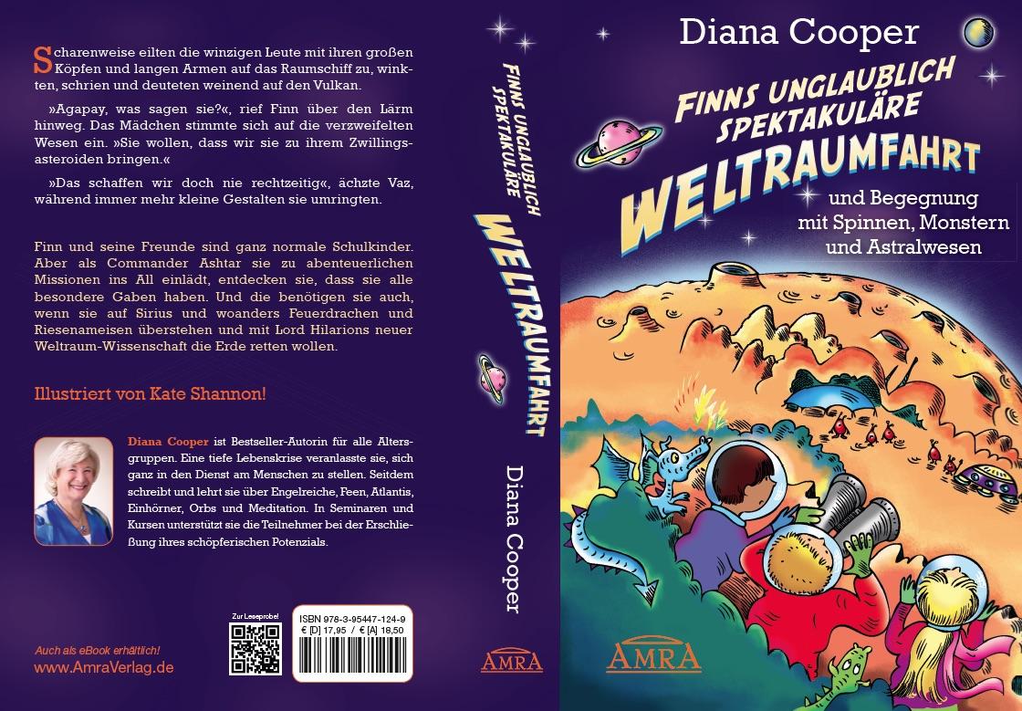 Der komplette Einband von Dianas hinreißendem Kinderbuch ...
